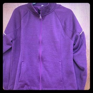 Plum sweatshirt